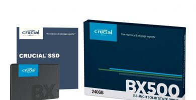 Crucial BX500 CT240BX500SSD1 - Disco Duro Sólido Interno SSD de 240 GB